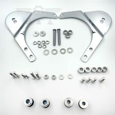 4-point Docking Hardware Kit For Harley Touring '97-'08 FLHR FLHT FLHX FLTR Chro
