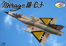RV Aircraft 1/72 Mirage IIICJ plastic kit