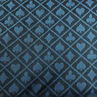 Blue Two Tone Suited Speed Cloth Poker Table Felt 100% Polyester 120x60 NEW