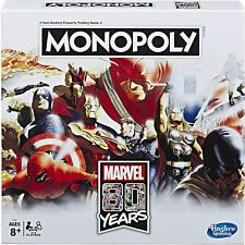 Monopoly Marvel 80 Years Edition Collectible Board Game (Hasbro)