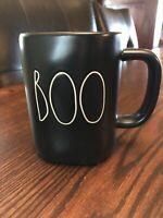 Rae Dunn BOO Black Matte mug