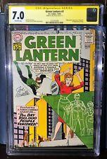 Green Lantern # 7 *CGC 7.0* RARE* First appearance of Sinestro!