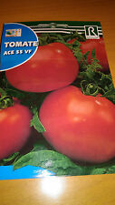 Semillas de Tomate Ace 55 VF 1g. 240 aprox Lycopersicon sculentum seeds