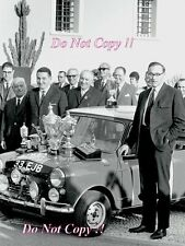 Paddy Hopkirk Mini Cooper S 33 EJB Winner Monte Carlo Rally 1964 Photograph 10