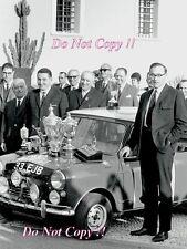 Paddy Hopkirk Mini Cooper S 33 EJB Winner Monte Carlo Rally 1964 Photograph 10