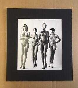 1981 Helmut Newton -sie Kommen (naked) French VogueFrame READY MATTED