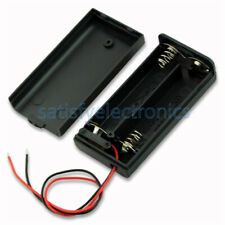 2 AA 2A Battery Holder Box Case with ON/OFF Switch and Cover for 2AA battery