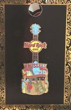 Hard Rock Cafe BRUSSELS 2012 Core City Tee T-Shirt PIN on Card V12 - HRC #68943