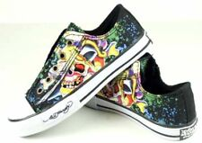 Ed Hardy Unisex Kids Lowrise 100 Death Or Glory Shoes
