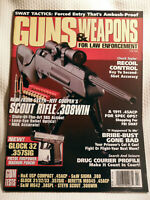GUNS & WEAPONS FOR LAW ENFORCEMENT MAGAZINE~ FEB 1998 ~ SCOUT RIFLE .308WIN