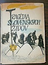TRGEDY of JEWS of SLOVAKIA HOLOCAUST YIZKOR HUGE ILLUSTRATED BOOK 1949