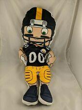 "Steelers Football Player Plush Pillow 27"" Stuffed Animal Toy"