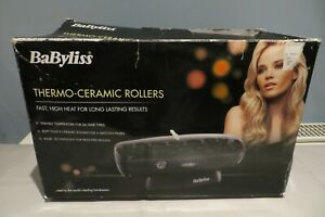 BABYLISS THERMO-CERAMIC ROLLERS GOOD WORKING ORDER