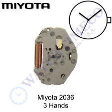 Genuine Miyota 2036 Watch Movement Japan 3 Hands