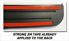 REAR BUMPER TOP SURFACE SCUFF PROTECTOR FITS 2012 17 2017 TOYOTA PRIUS C HYBRID