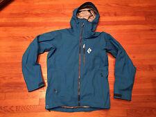 Men's Black Diamond Vapor Point Shell Jacket Sz M - Blue - BNWT