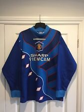 Manchester United 1995-1997 Goal Keepers Football Shirt, Size M