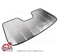 Ford Fiesta 11-20 Custom Made Car Heat Shield Windshield Sun Visor SunShade