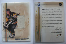 2000-01 BaP Memorabilla L-7 Mario Lemieux glove RARE HOT