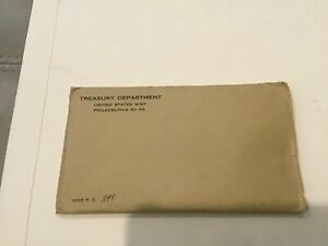 PROOF SET 1956 IN ORIGINAL ENVELOPE AND PLASTIC FOIL    OPENED BY SIDE