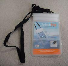 "Tech & Go SplashBag Medium Water Resistant Bag for iPad Mini, Most 7-8"" Tablets"