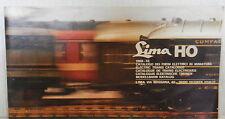 CATALOGO DEI TRENI ELETTRICI IN MINIATURA LIMA HO 1969 1970 Ferrovia Ferroviario