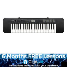 Casio CTK-240 49 Note Full Size Keyboard - 6 Months Free Online Lessons
