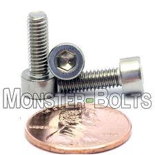 M4 x 12mm - Qty 10 - DIN 912 SOCKET HEAD Cap Screws - Stainless Steel A2 / 18-8