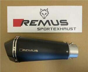 Remus Hypercone Black Stainless 65mm Motorcycle Exhaust Silencer 6782 101365