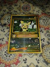 Pokemon Pichu Japanese NEO 2 Discovery Premium File Reverse Holo Promo Card