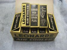 Leonards 14E 14MM Spark Plugs 10 Pack Obsolete Antique Vintage Rat Rod