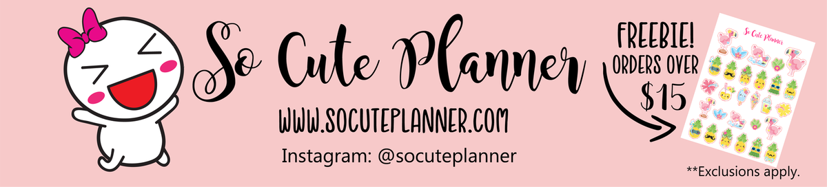 So Cute Planner