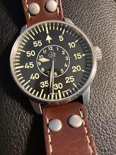 Laco Aachen 42mm Type-B Dial Miyota Automatic Pilot Watch Sapphire Crystal