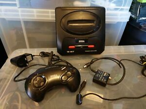 Sega Mega Drive II  2 Console With all leads ready to play console