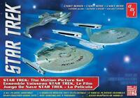 AMT Star Trek Cadet Series Motion Picture set 1:2500 model kit new 762
