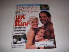 PEOPLE Magazine, June 27, 1994, O.J. SIMPSON NICOLE SIMPSON MURDER JOEY LAWRENCE