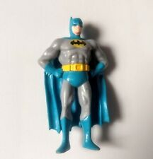 Vtg 1989 Applause Blue Batman Figure Figurine DC Comics Superhero Toy