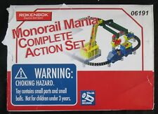 Rokenbok Monorail Mania & Storage Depot Expansion Set Parts Incomplete See pics