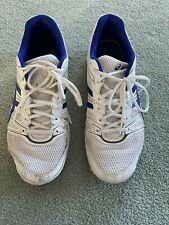 Asics Squash Shoes | Mens 10.5 | Blue and White