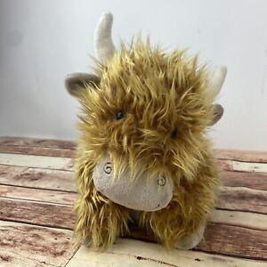 Jellycat Truffles Plush Pillow Highland Cow Toy 15 Inches/Medium RARE