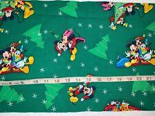 """New Disney Mickey/Minnie/Donald Duck Christmas 10""""L By 44""""W Last Piece"""