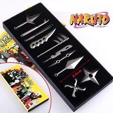 Naruto Uzumaki Kakashi Weapons Cosplay Props Pendant 10pcs/Set