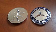 Fregio Logo Stemma Cofano Anteriore MERCEDES Classe A CLK C E S ML GL SL 57 mm