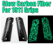 1 Pair Hand Grips Patch Damascus Pattern DIY Slabs Blanks For 1911 Grips DIY