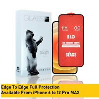 Tempered Glass Screen Protector For iPhone 12/11 Pro Mini Max X Xs 8 Plus 8 7 6