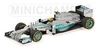 MINICHAMPS 410 130080 MERCEDES AMG F1 model Showcar Lewis Hamilton 2013 1:43rd