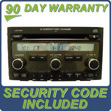 06 07 08 HONDA Pilot Radio Stereo 6 CD Player Changer 1AV2 2006 2007 2008 AUX