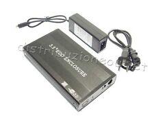 """BOX ESTERNO X HARD DISK  3.5"""" IDE SATA USB 2.0 CASE HD"""