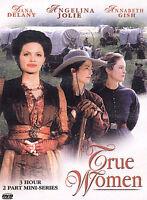 Drama - True Woman (DVD, 2004) Hallmark TV Mini-Series Family Western New Jolie