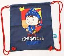MIKE THE KNIGHT CHILDREN'S DRAWSTRING COTTON KIT BAG / PE / SWIMMING